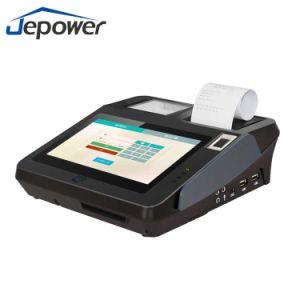 Jp762A 열 인쇄 기계 카드 Reader/NFC/2D Barcode/3G를 가진 인조 인간 시스템 POS 단말기