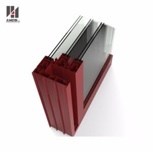 半ドア、テラスのドアおよび出入口を一致する商業用システムによってカスタマイズされるアルミニウム引き戸