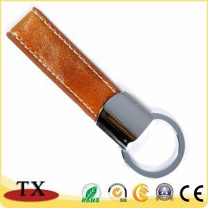 Китай поставщиком оптовых Geniune пользовательские цепочки ключей из натуральной кожи