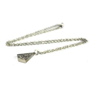 Collana della catena del Rhombus del metallo placcata nastro all'ingrosso della fabbrica