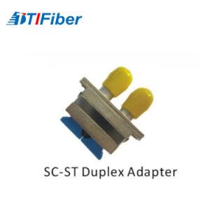 Sc-St Hybird duplex do adaptador de Fibra Óptica
