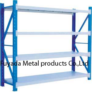 فولاذ تخزين ثقيلة - واجب رسم عرض مستودع من مع طبقة لوح