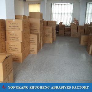 Alumina van het Zirconiumdioxyde van 125mm het Schuurmiddel van de Schijven van het Document van de Vezel voor het Oppoetsen van het Metaal