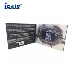 La fabbrica fornisce libretto dell'affissione a cristalli liquidi di 4.3 '' Digitahi di memoria 2g il video/video scheda
