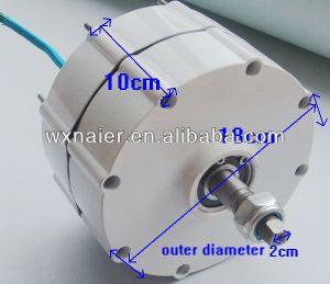 Petit 600W 12V/24V/48V pmg générateur à un aimant permanent de l'énergie libre