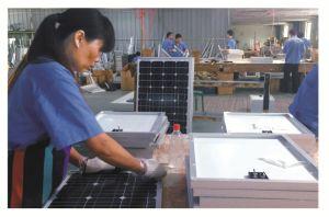 Лампа солнечной энергии солнечного света солнечная панель солнечной системы генератора Hzad-002
