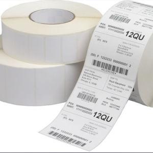 Escrituras de la etiqueta de código de barras impresas baratas al por mayor