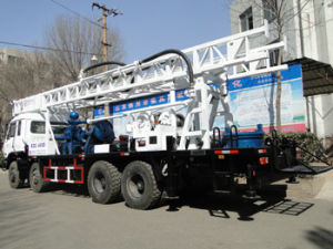 400m de profundidade de perfuração rotativa montada na máquina para perfuração de poços de água