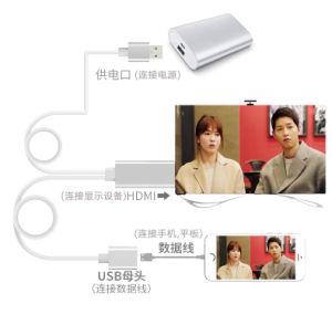 HDMIケーブルHDのビデオアダプタへのUSB 3.0の女性