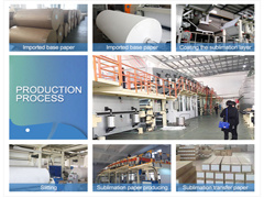 precio de fábrica de tamaño A4 Papel de transferencia por sublimación