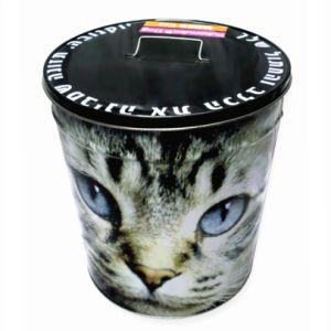 Directamente de fábrica de metal de ventas de envoltura completa Cubo de Hielo tin box