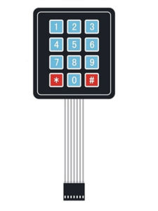 Grande tastiera di External del microcontroller della tastiera della tabella del tasto 4*4