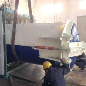 1650X3000mm elektrische Heizung vorverlegter Convectional lamellierender Glasautoklav