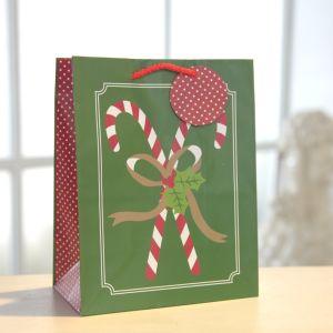 녹색 장갑 덧나막신 종이 봉지, 선물 종이 봉지