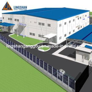 El precio bajo estructura de acero prefabricados Taller Construcción de Galpón de fábrica del Plan del edificio de oficinas