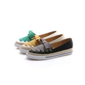 De confortables chaussures de loisirs de toile pour femme