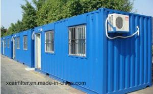 Económica de 20 pies de la casa de contenedores prefabricados