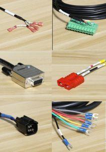 Com o conector do Conjunto do Chicote/Chicote de fiação para o sistema de vigilância de vídeo