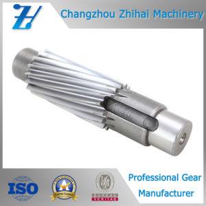 작은 나선형 기어 샤프트를 기계로 가공하는 관례 CNC
