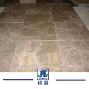 床タイルのためのEmperador軽い大理石の/Brownの大理石の平板か薄茶の大理石