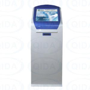 カード読取り装置の支払ATMのキオスクの自動販売機のタッチ画面のキオスクを受け入れる自己サービス現金