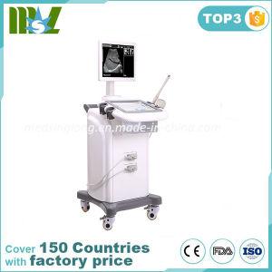 Scanner di ultrasuono del carrello del video Msltu06 14 per gli ospedali ed il trasduttore di ultrasuono del carrello di modo di visualizzazione delle cliniche/B+M