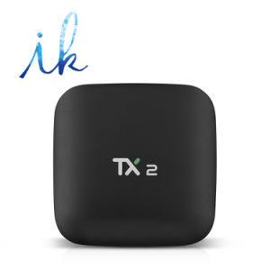 Tx2 Rk3229 2GB RAM/16GB ROM-gesetzter Spitzenkasten androider Fernsehapparat-Kasten-Support 4K HD, WiFi