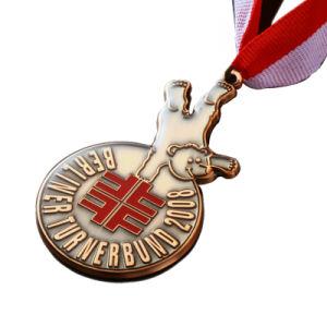 Kundenspezifisches einfaches Metallandenken-Dekoration-Geschenk-Metallzink-Legierungs-Medaillon (197)