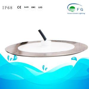 Толщина 8 мм 18W плоский светодиодный подводный плавательный бассейн с 2 лет гарантии