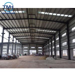 Almacén de la estructura de acero de alta calidad de la construcción de obras