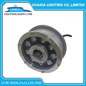 照明噴水のための27W LEDのステンレス鋼の水中ライト