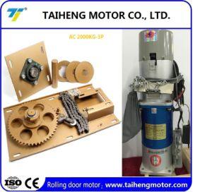Rodillo de alta calidad del motor eléctrico de las puertas del obturador