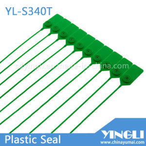 Seguridad de plástico a prueba de manipulaciones de la junta de bloqueo de metal