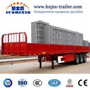 Wellen-Ladung-Behälter-Seitenwand-halb LKW-Schlussteil des 40FT Hilfs3