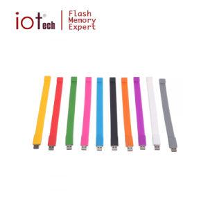 Bastone promozionale di memoria dell'azionamento dell'istantaneo del USB del braccialetto del silicone del regalo di vendita calda