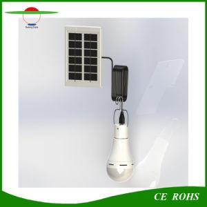 7With 9W USBの再充電可能な屋内か屋外のキャンプランプの太陽動力を与えられた球根ライト