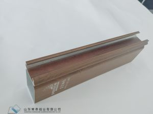 Profilo di alluminio di vendita caldo 2018 per la finestra ed il portello