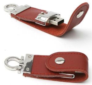 Высокопроизводительные Рекламные Сувениры из натуральной кожи 32 ГБ флэш-диска USB