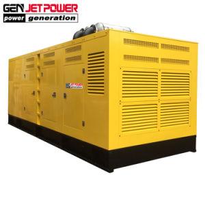10kVA 8kw 750kVA 600kw 3段階の無声ディーゼル発電機