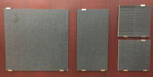 床および壁のための暗い色の磁器及び陶磁器の艶をかけられた無作法なタイル
