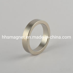 Ningbo Professional Fabricante Íman fino anel o magneto de neodímio para fins industriais