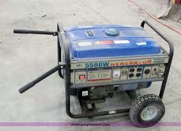 Les générateurs de Homelite 5500 Watt