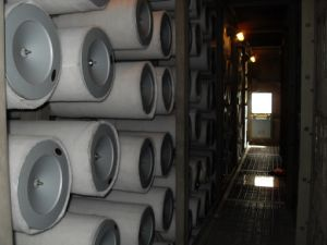 Siemens cartucho de filtro de aire de la turbina de gas