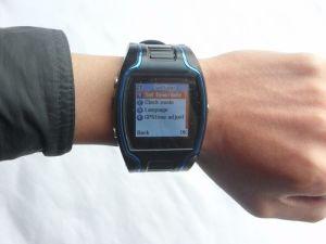 Gps-Uhr-Verfolger mit PAS-Knopf und eingebautem Mikrofon (TX-GPS02)