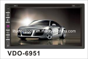 Doppio Giocatore-Vdo 6951 dell'automobile DVD di BACCANO