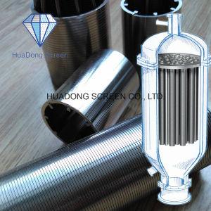 ステンレス鋼316Lのウェッジのワイヤーによって溶接されるスクリーンか精密産業ろ過