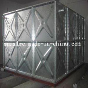 Médio a quente de aço galvanizado moldados de Tratamento de Água do Tanque de Água