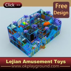 O Ce caçoa o campo de jogos interno para o jardim de infância (T1234-3)