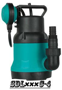 (SDL250C-4) Pompa ad acqua elettrica sommergibile di plastica, migliore pompa del giardino di qualità