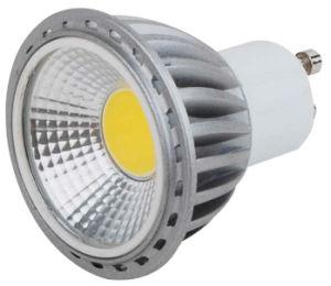 GU10 5W PFEILER LED Lampe mit grauem Aluminium